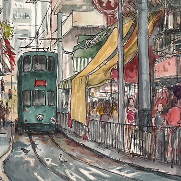 Tram terminus by adolfux