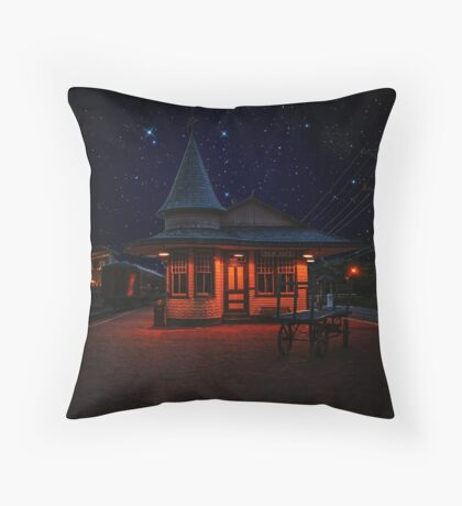 New Hope and Ivyland under the Stars Throw Pillow