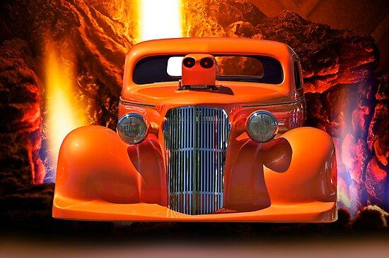Satanic Invasion - 1936 Chevy Pro Mod by DaveKoontz