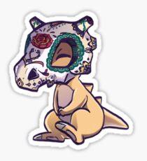Día de los Muertos con Cubone Sticker