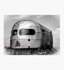 Classic Airstream Caravan.  Photographic Print