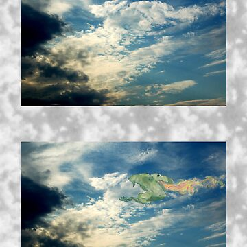 Dragon in the Clouds by jonsanders