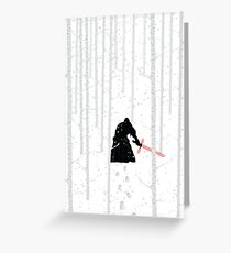 Star Wars - The Force Awakens Greeting Card