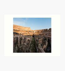 Il Colosseo IV Art Print