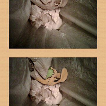 Troll Face in Trash by jonsanders