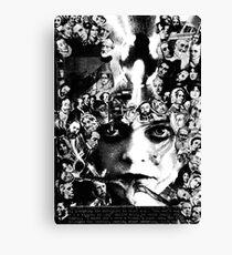 X Files Babe. Canvas Print