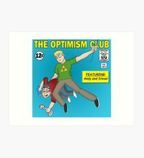 The Optimism Club Logo - Standard Art Print