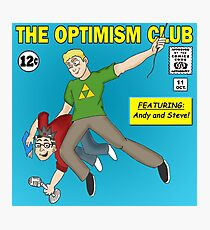 The Optimism Club Logo - Standard Photographic Print