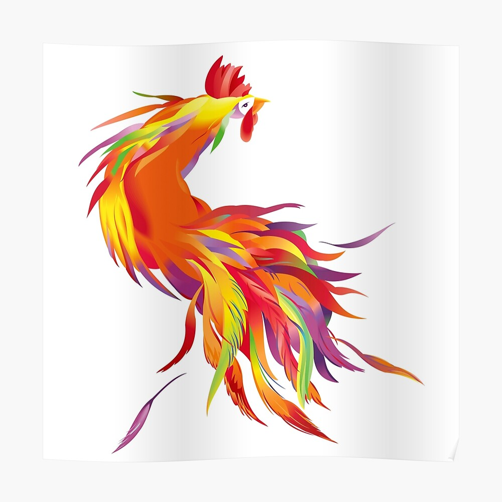 Red Cock Poster