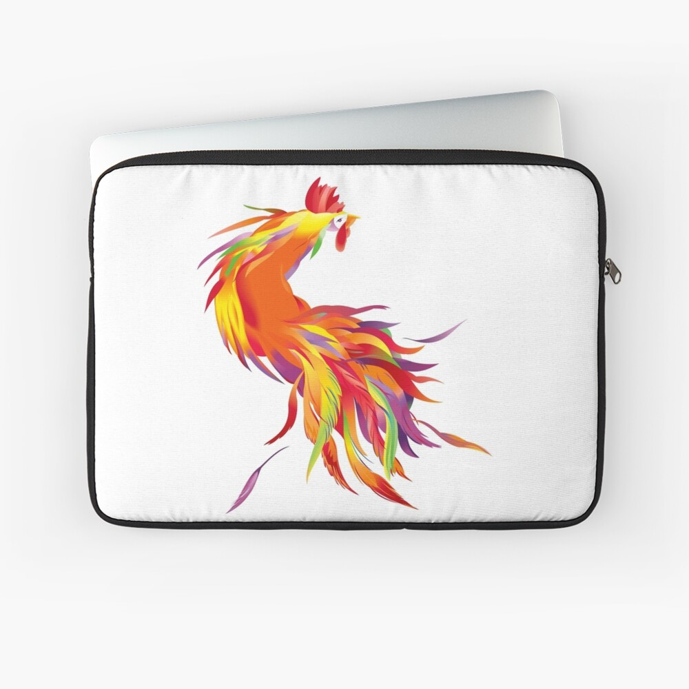 Red Cock Laptop Sleeve
