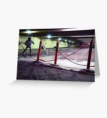 Safety Skate Greeting Card