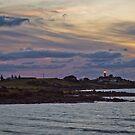 Evening Light, Low Head Lighthouse Tasmania by fotosic