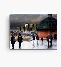 Canary Wharf 003 Canvas Print