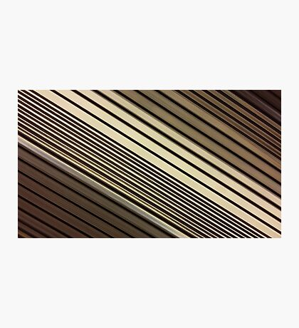 Lumina 6 - Mocha Diagonal Photographic Print