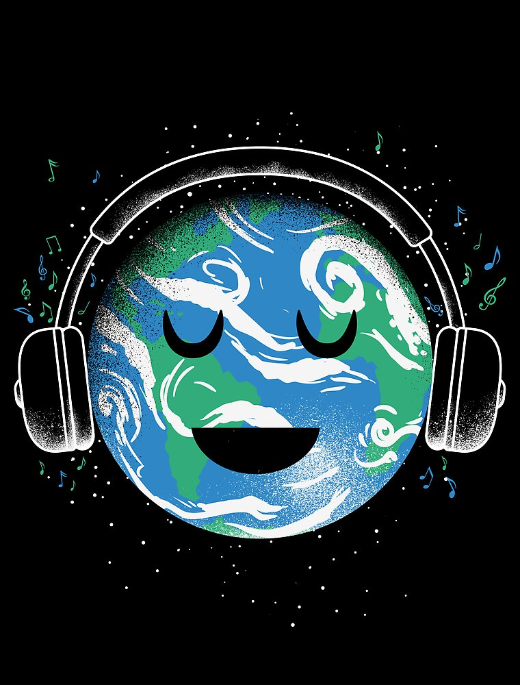 The whole planet loves music by Jonah Block