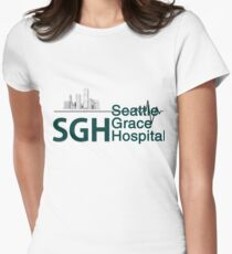 Seattle Grace Hospital Greys {FULL} Women's Fitted T-Shirt