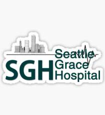 Seattle Grace Hospital Greys {FULL} Sticker