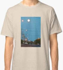 Moon over Lightning Ridge Classic T-Shirt