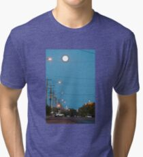 Moon over Lightning Ridge Tri-blend T-Shirt