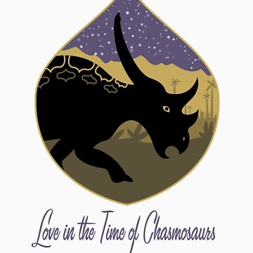 Love in the Time of Chasmosaurs (light) by anatotitan