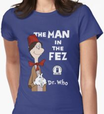The Man In The Fez Womens Fitted T-Shirt