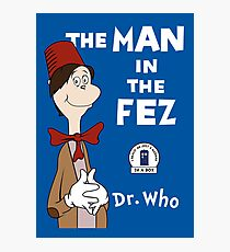 The Man In The Fez Photographic Print
