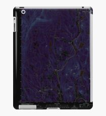 USGS TOPO Map New Hampshire NH Grantham 20120709 TM Inverted iPad Case/Skin