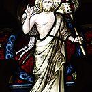Stained Glass Window St Saviours Goulburn nsw by Judy Woodman
