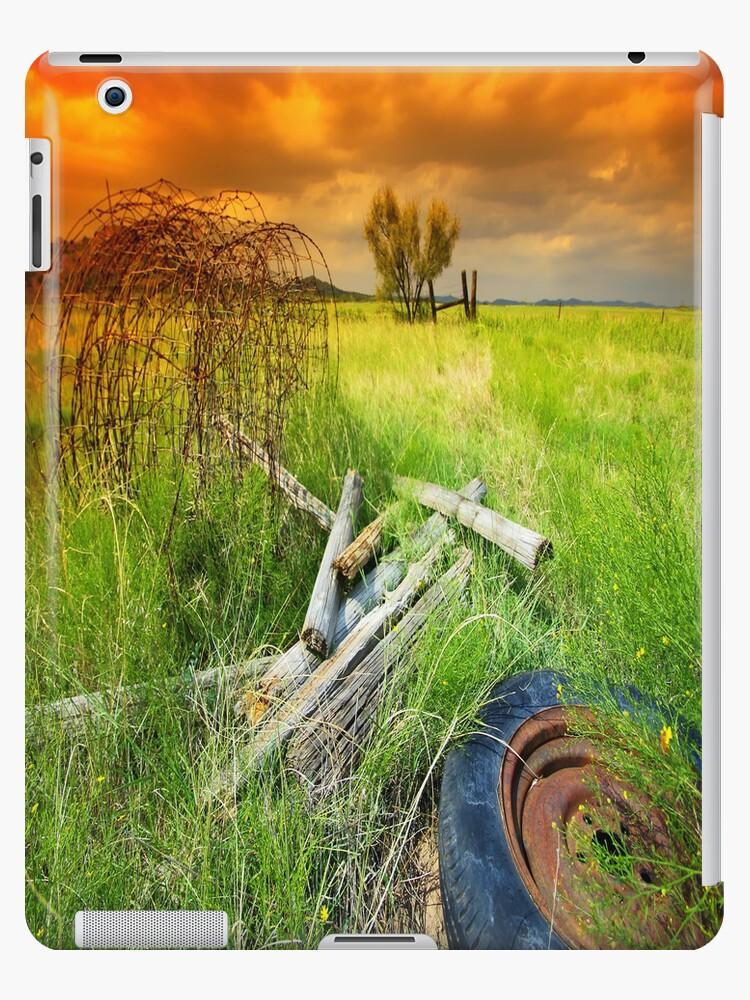 Sky On Fire iPad Case by ipadjohn