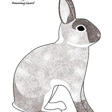 rabbit, agouti sable colour by DreamingLizard