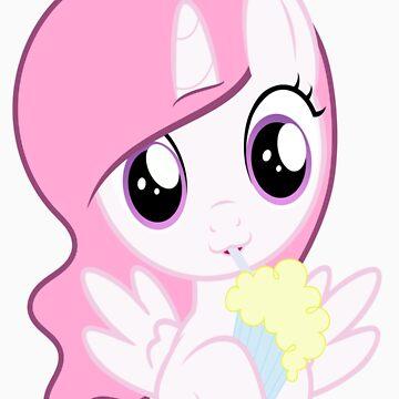 princess celestia milkshake by kokobunji