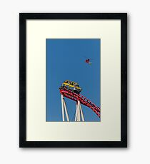 The Roller Coaster Framed Print