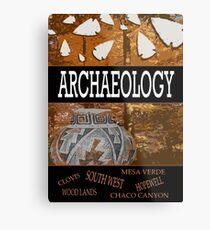 Archaeology Metal Print