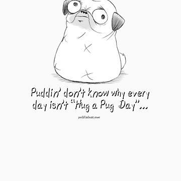 Hug a Pug Day by PuddinDont