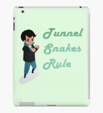 Tunnel Snakes Rule! iPad Case/Skin
