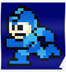 Megaman Sprite Poster