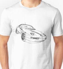 Porsche 928 black T-Shirt