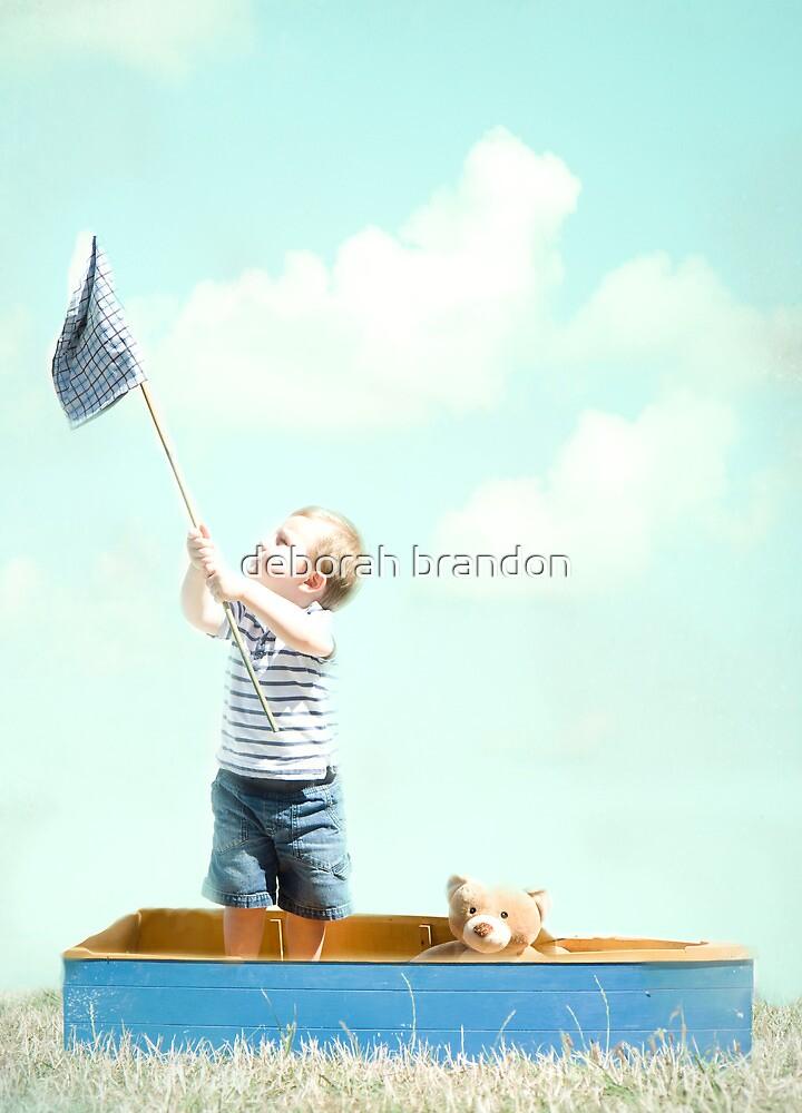 jake & ted set sail ...... by deborah brandon