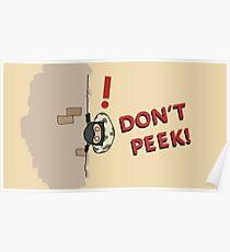 Don't Peek! Poster