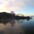 Fog meets blue sky von Samohsong