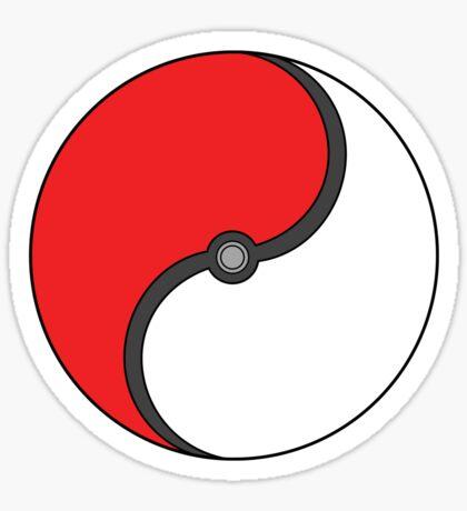 Poke-Ying-Yang Sticker