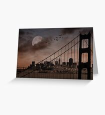 San Francisco (musical link in description) Greeting Card