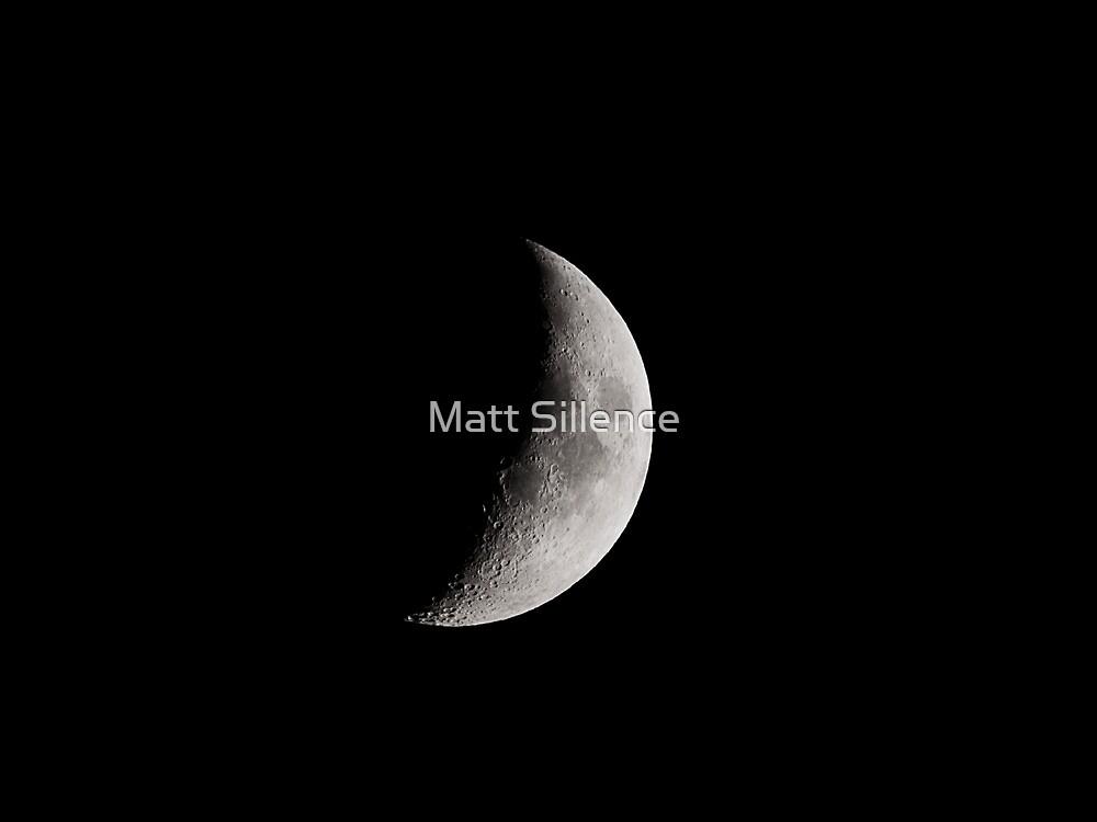 Quarter Moon by Matt Sillence