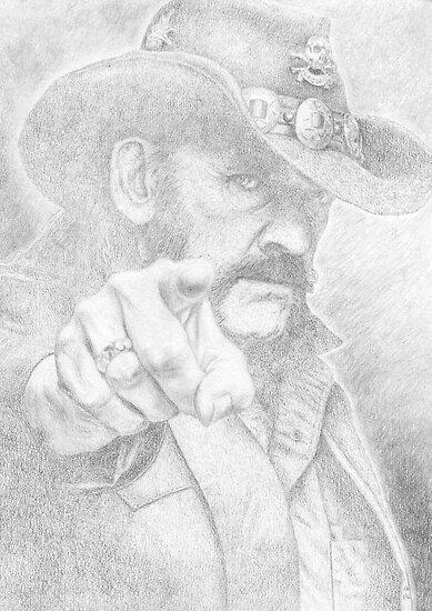 Lemmy from Motorhead by PencilPushers