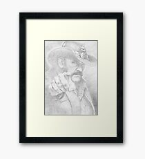 Lemmy from Motorhead Framed Print