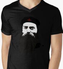 Ned Kelly Meets Che - any colour shirt Mens V-Neck T-Shirt