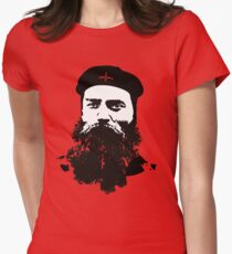 Ned Kelly Meets Che - any colour shirt Women's Fitted T-Shirt