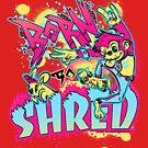 BORN TO SHRED by Heather Daniels
