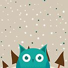 Cute owl by Gal Ashkenazi