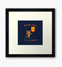 Orange Juice From Florida Framed Print